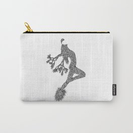 Quail Woman by CREYES of ArtFx Old Town Yucca Valley Carry-All Pouch