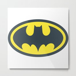 bat-man Metal Print