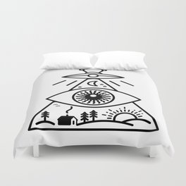 They Watch Us Duvet Cover