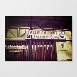 Tallulah Point Canvas Print