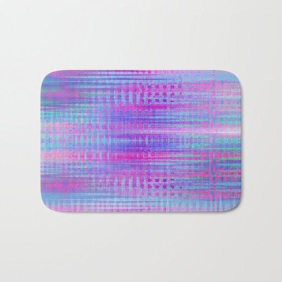 Distorted signal 02 Bath Mat