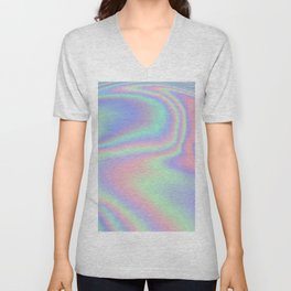 Iridescent Unisex V-Neck