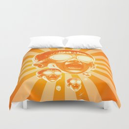 Big Fireee! Duvet Cover