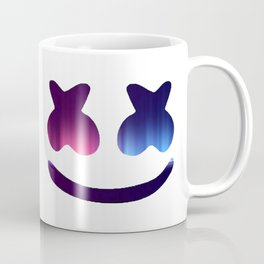 Marshmello Blue Rainbow Coffee Mug