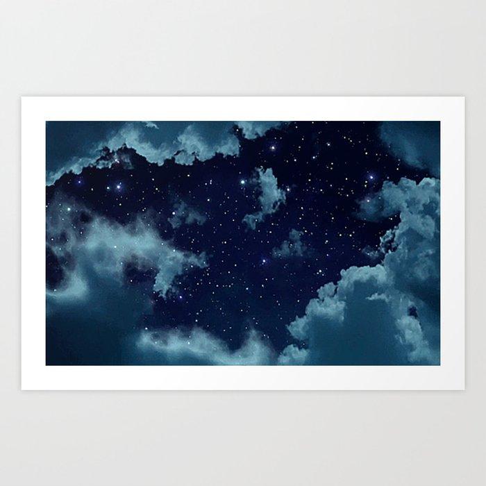 Night Sky Kunstdrucke