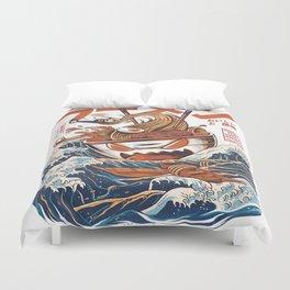 Great Ramen off Kanagawa Duvet Cover