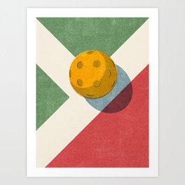 BALLS / Pickleball Art Print