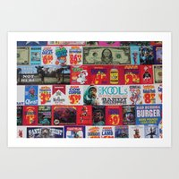 propaganda Art Prints featuring Propaganda by JDOTshots
