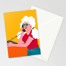 Calling the 80s Stationery Cards