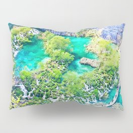 Waterfall Oasis Pillow Sham