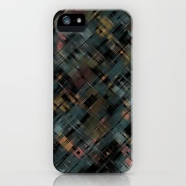Colored streaks iPhone Case