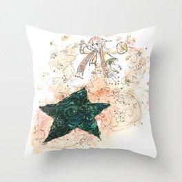 Accidental Star Throw Pillow