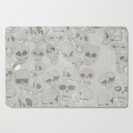 Skulls Pattern Cutting Board