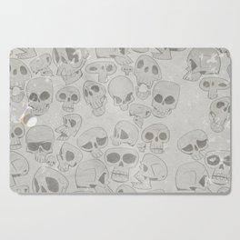 Skulls Pattern Cutting Board