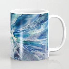 Aquamarine Geode Coffee Mug