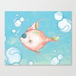 Pink Fish Dreams  Canvas Print