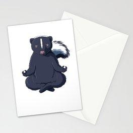 Skunk Meditated  Stationery Cards