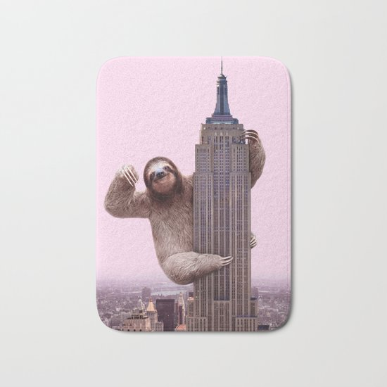 KING SLOTH Bath Mat