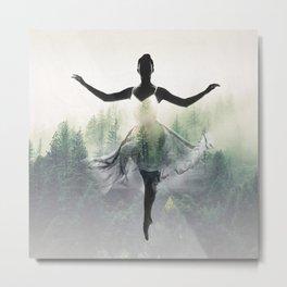 Forest Dancer Metal Print