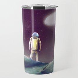Observing The Energy Comet Travel Mug