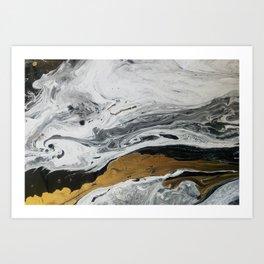 Mármore Art Print