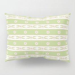 Letucce Green Stripes Pillow Sham