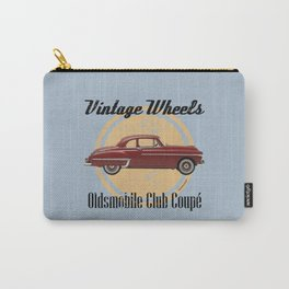 Vintage Wheels: Oldsmobile Club Coupé Carry-All Pouch