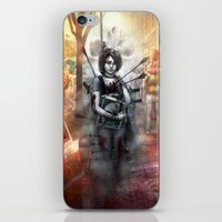 depression iPhone & iPod Skins featuring Depression by Mitul Mistry