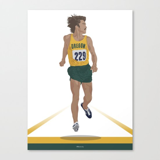 Steve Prefontaine Canvas Print