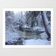 St-André river Art Print