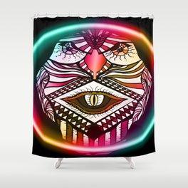 Night Hawk Shower Curtain