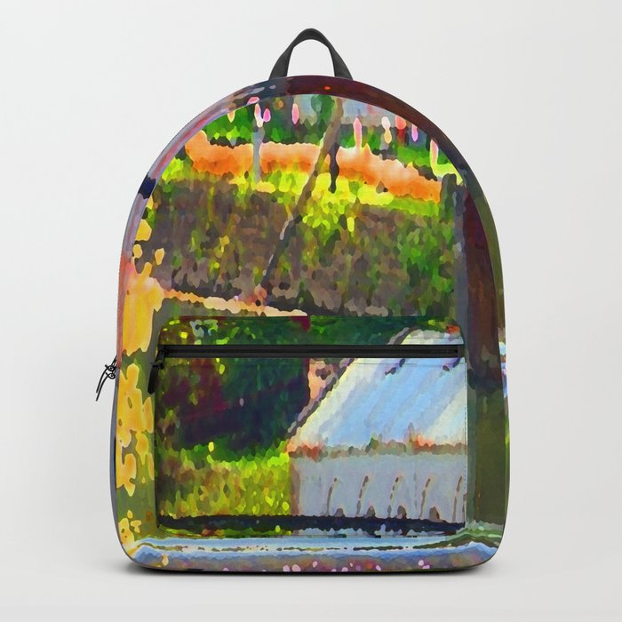 Pointillism: Snoqualmie Falls Backpack