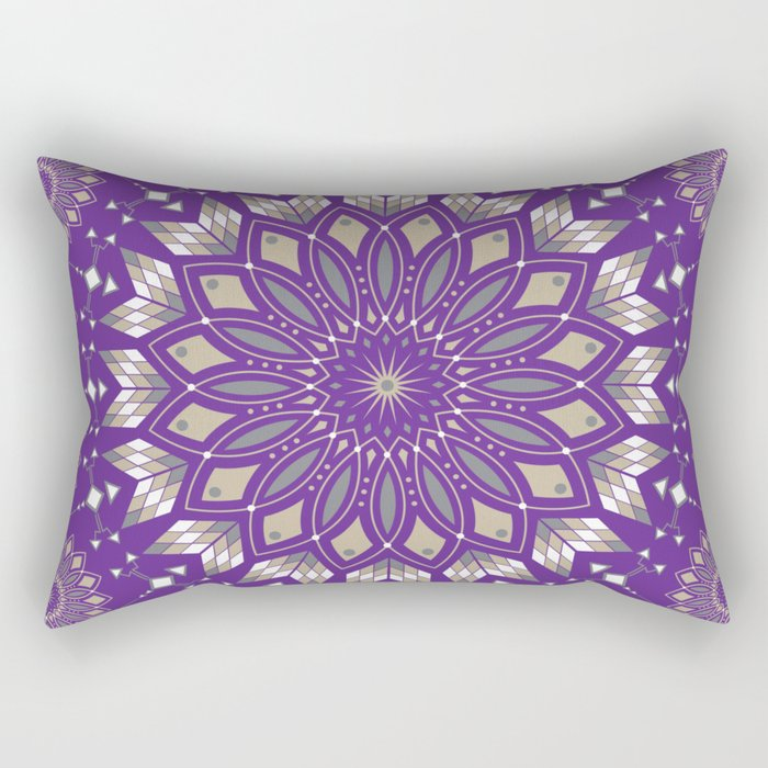 Ancestors (Purple) Rectangular Pillow