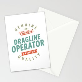 Dragline Operator Stationery Cards