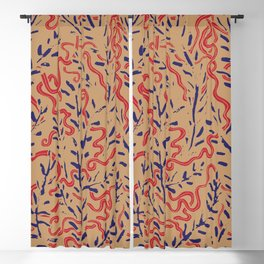 Indian Snakes Blackout Curtain