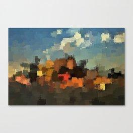 Evening on the Farm Canvas Print