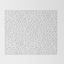 Low Pol Mesh (positive) Throw Blanket