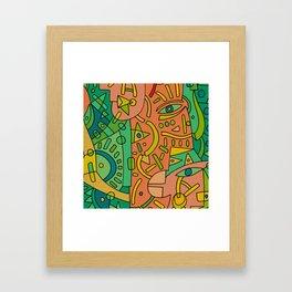 - 2 directions - Framed Art Print
