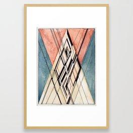 """Gordon Belot, """"Ten Weird Things about de Sitter Spacetime"""" Framed Art Print"""