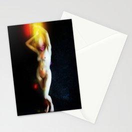 Cozmogonizm Series #30, Color Film, Analog, Art Photo, NUDE Stationery Cards