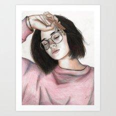 Alleana Art Print