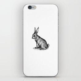 Rabbit in Ink iPhone Skin