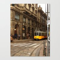 milan Canvas Prints featuring Milan by GialloPhoto