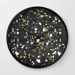 Glitter and Grit 2 Wall Clock