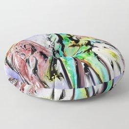 Angel, earth elemental Floor Pillow