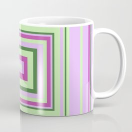 Purple, Lilac, Green Decorative Design, ideal for bedding, leggings, etc Coffee Mug