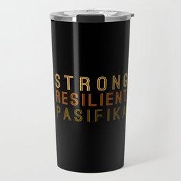 Strong Resilient Pasifika Travel Mug