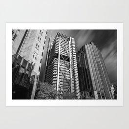 Three Towers / Three Styles Art Print