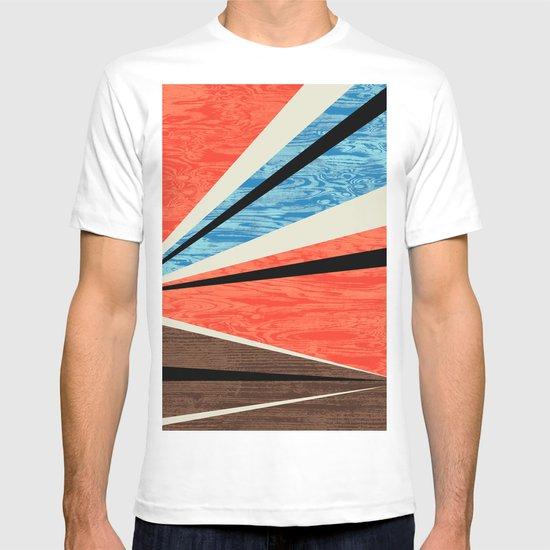 Graphic Woodgrain T-shirt