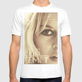 Brigitte Bardot, Contempt, movie poster, Le Mépris, Jean-Luc Godard, Fritz Lang, T-shirt